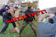Bloomfield CT Handcuffing – O.C. Spray & Expandable / Straight Police Baton SOLD OUT!