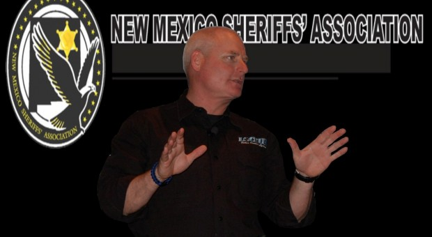 Lt. Dillon Presenting at New Mexico Sheriffs' Conference