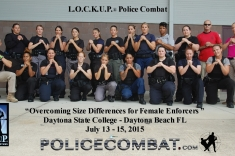 Daytona Beach FL – Overcoming Size Differences for Female Enforcers