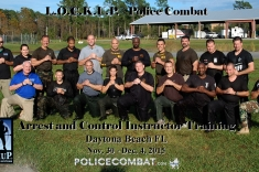 Daytona Beach FL – L.O.C.K.U.P.® Arrest and Control Instructor Course