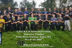South Metro MN – L.O.C.K.U.P. ® Police Combat  Arrest And Control Instructor Course SOLD OUT!