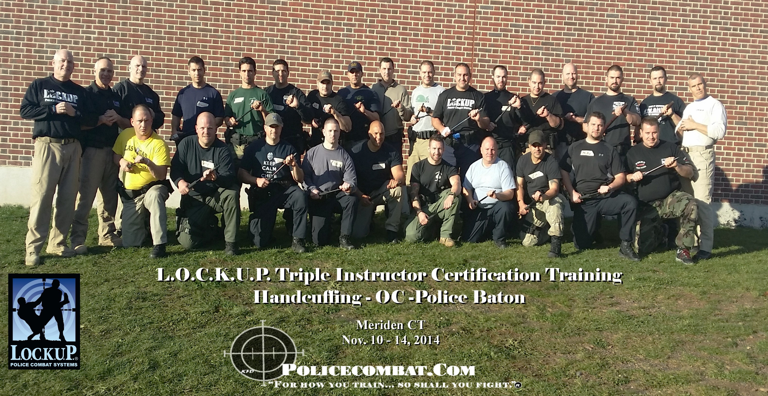 Triple Certification Training – Handcuffing , OC Spray and Police Baton