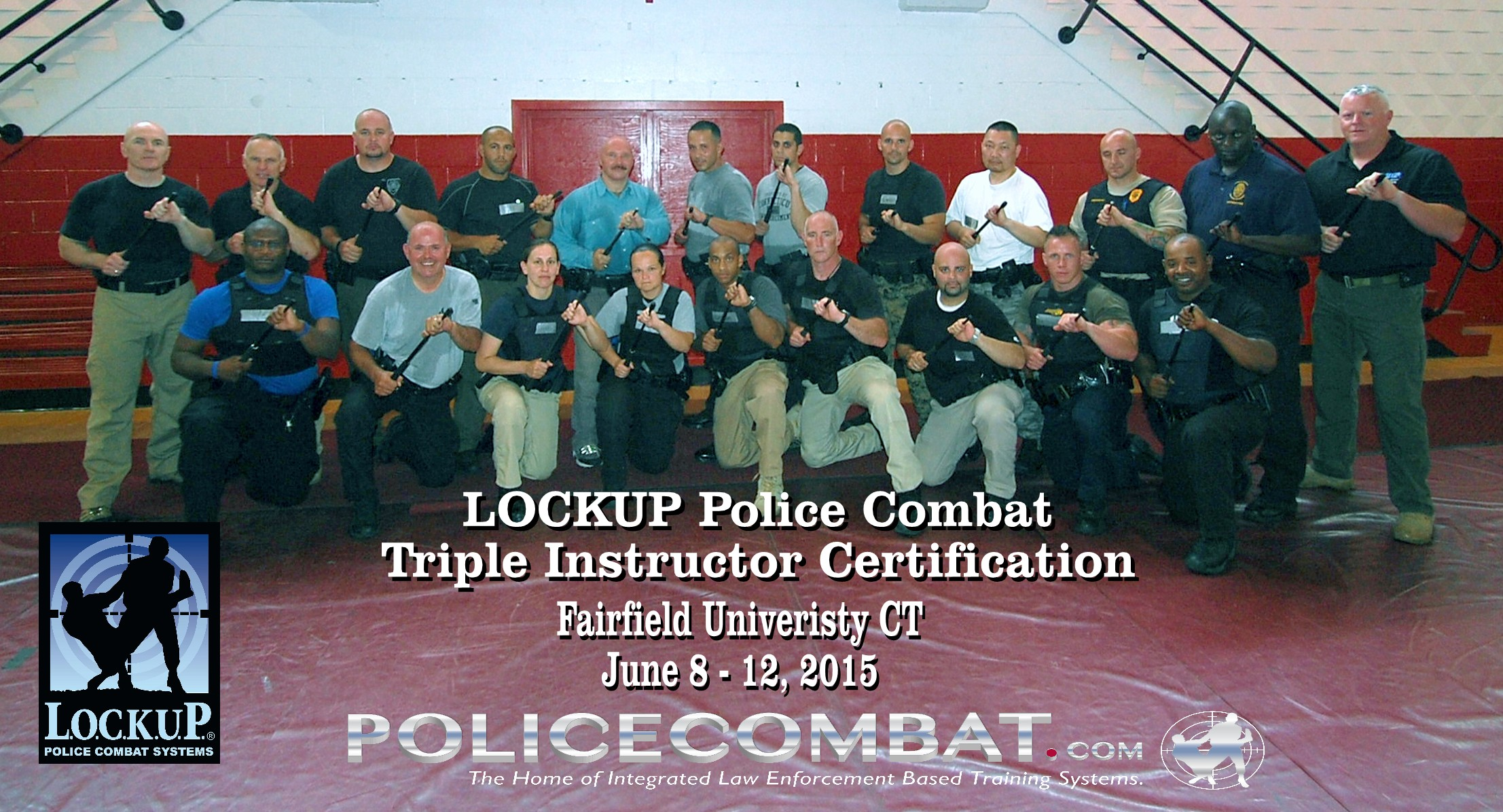 Triple Certification Training Handcuffing Oc Spray And